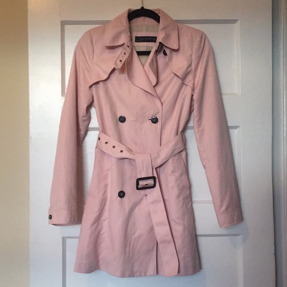 Zara Jackets & Blazers - Blush trench coat